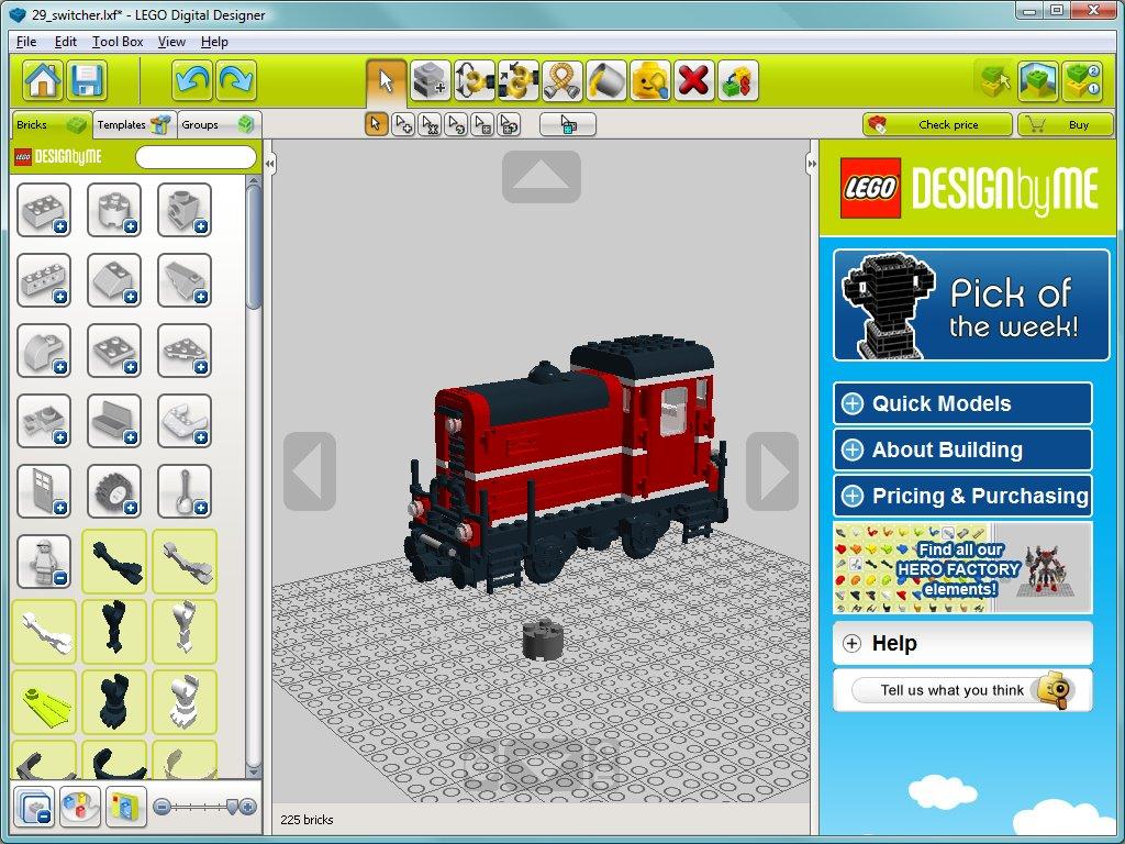 Lego Digital Designer Ldd